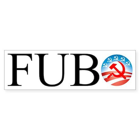 FUBO Bumper Sticker