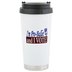 Pro Ballet Vote Travel Mug