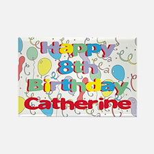Catherine's 8th Birthday Rectangle Magnet