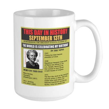 september 13th-birthday Large Mug