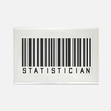 Statistician Barcode Rectangle Magnet