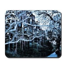 Beacon Street Winter Mousepad