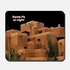 Santa Fe at Night Mousepad