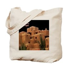 Santa Fe at Night Tote Bag