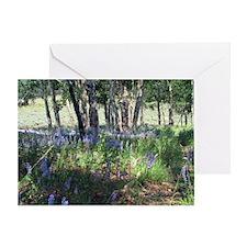 Wildflowers - Lupines Greeting Card