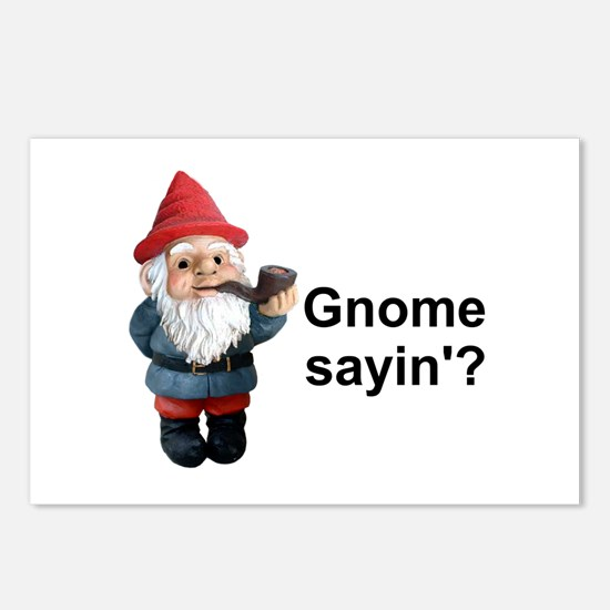 Gnome Sayin' Postcards (Package of 8)