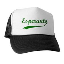 Esperanto Swash Trucker Hat