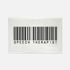 Speech Therapist Barcode Rectangle Magnet (10 pack