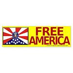 Free America Bumper Sticker