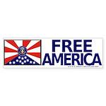 Free America Bumper Sticker 2