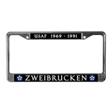 Zweibrucken Air Base License Plate Frame