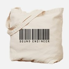 Sound Engineer Barcode Tote Bag
