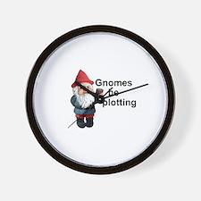 Gnomes be plotting Wall Clock