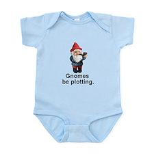 Gnomes be plotting Infant Bodysuit