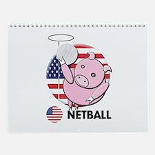 netball Wall Calendar