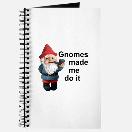 Gnomes made me do it Journal