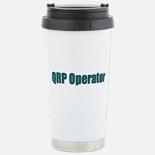 QRP Operator Stainless Steel Travel Mug