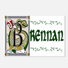 Brennan Celtic Dragon Postcards (Package of 8)