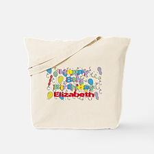 Elizabeth's 8th Birthday Tote Bag