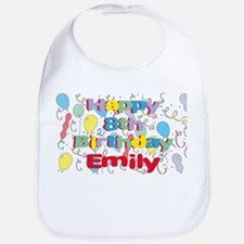 Emily's 8th Birthday Bib
