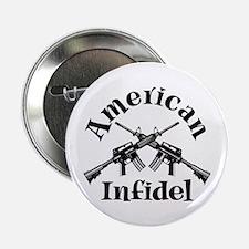 "American Infidel 2.25"" Button"