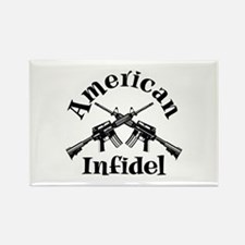 American Infidel Rectangle Magnet