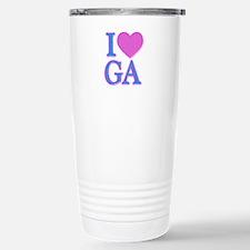 I Love GA Travel Mug