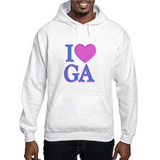 I Love GA Hoodie