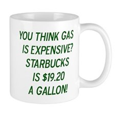 Gas vs. Coffee Mug