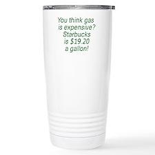 Gas vs. Coffee Ceramic Travel Mug