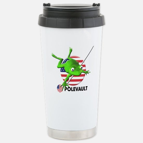 polevault Stainless Steel Travel Mug