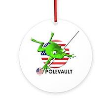 polevault Ornament (Round)