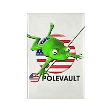 polevault Rectangle Magnet (10 pack)