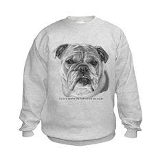 Allie, English Bulldog Sweatshirt