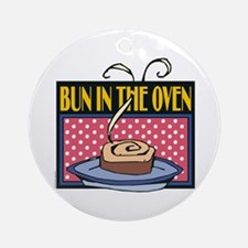 Bun in the Oven Keepsake (Round)