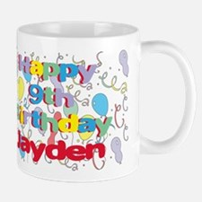 Jayden's 9th Birthday Mug