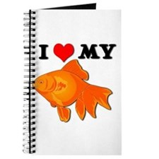 I Love my Goldfish Journal