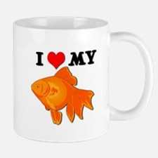 I Love my Goldfish Mug