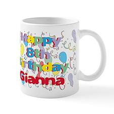 Gianna's 8th Birthday Mug