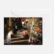 Basenji Christmas Card
