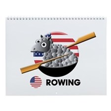 rowing Wall Calendar