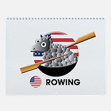 rowing Wall Calendar