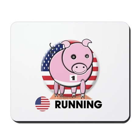 running Mousepad