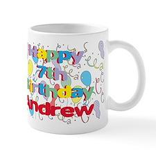 Andrew's 7th Birthday Mug