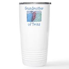 Cute Twin grandmother Travel Mug