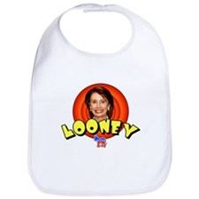 Looney Nancy Pelosi Bib