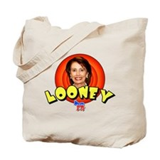 Looney Nancy Pelosi Tote Bag