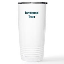 Paranormal Team Travel Coffee Mug