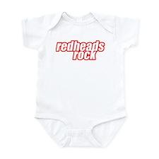 Redheads Rock Infant Bodysuit