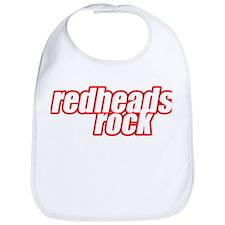 Redheads Rock Bib